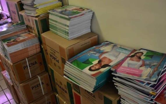 Garantizan entrega de libros de texto gratuito en la entidad