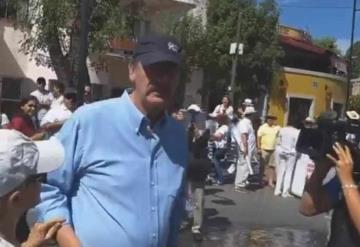 Corren a Vicente Fox de marcha anti AMLO