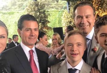 Juan collado en la boda de su hija; Peña nieto estuvo ahí