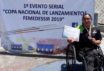 Yessica de la Cruz ya es parte de la delegación mexicana para los Juegos Parapanamericanos