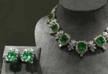Gobierno federal anuncia subasta de joyas