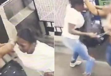 Pelea de mujeres en el metro de Nueva York, una de ellas murió