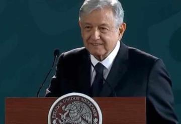 """Descarta AMLO amenaza de recesión; """"vamos bien"""", afirma"""