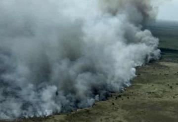 Reserva de Sian Ka´an es consumida por incendio