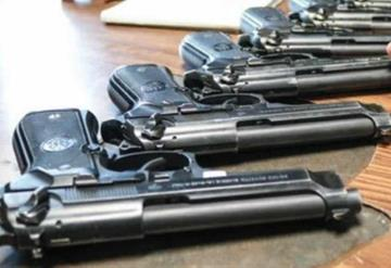 Roban armamento de comandancia municipal