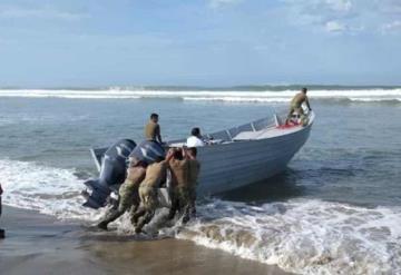Encuentra Marina embarcación con mil 550 litros de guachicol