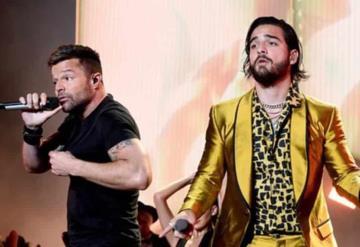 Maluma y Ricky Martin, juntos una vez más