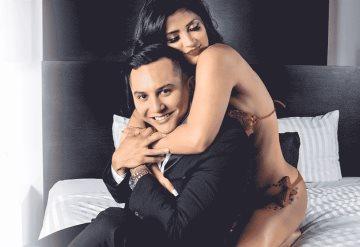 Revelan polémico video de Kimberly Flores a horas de casarse con Edwin Luna