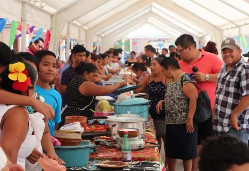 Así se vivió el primer Festival Gastronómico de Cupilco, Comalcalco
