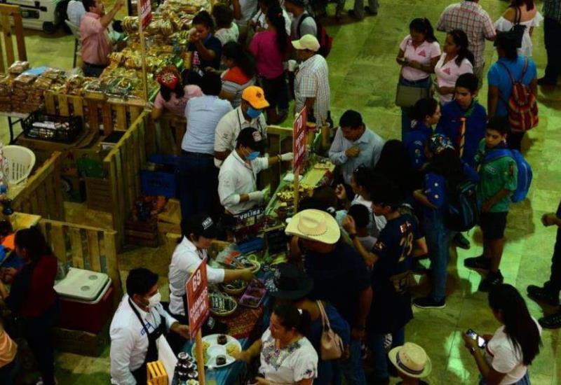 Así se vive el primer día del Festival del Queso 2019 en Tenosique
