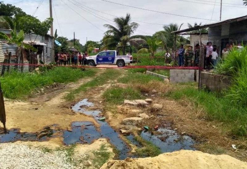 Ante posible hallazgo de yacimiento de petróleo, GN y Policía Municipal resguardan la zona
