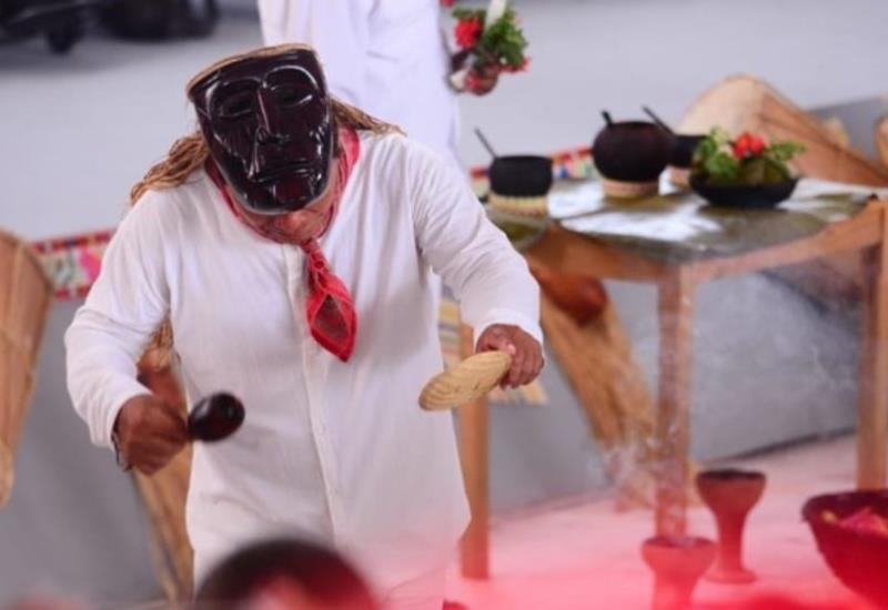 Así celebran el Día Internacional de los Pueblos Indígenas en el municipio de Nacajuca, Tabasco