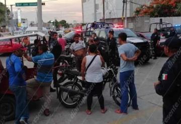 9 detenidos y 6 motos decomisadas, saldo de riña a las afueras del Hospital Juan Graham