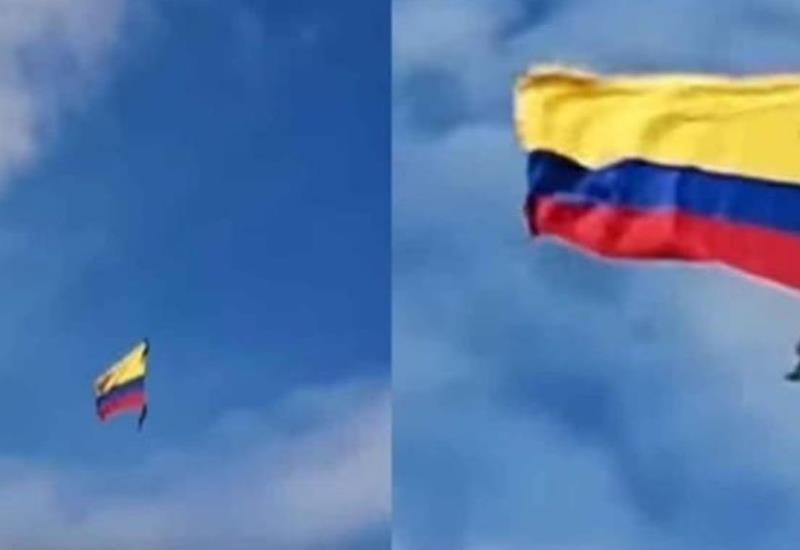 #VIDEO Momento exacto en que soldados caen desde helicóptero