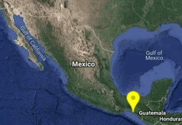 Dos sismos se sienten en Tabasco en menos de 6 horas