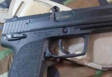 Sujeto es procesado por portación de arma de fuego de uso exclusivo de las fuerzas armadas