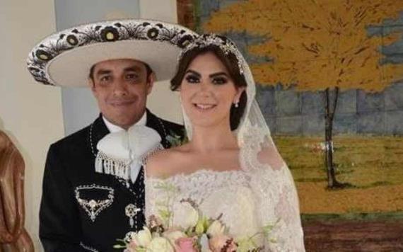 Para toda la vida, Karla Sánchez Cano y Joaquín Alejandro Logoniego se casaron