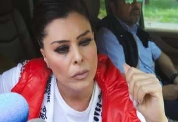 Yadhira Carrillo explota contra reportera en el reclusorio Norte
