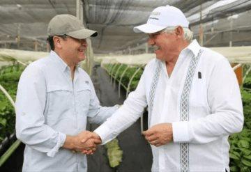 Presidente de Honduras visita Chiapas para conocer programa de AMLO