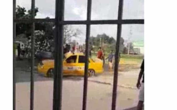 Taxista que atropelló a futbolistas en Miguel Hidalgo, sería discapacitado que engañó a policías