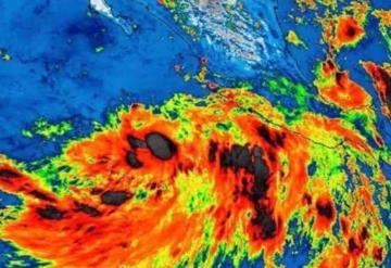 Se forma la tormenta tropical Ivo, en el Océano Pacífico