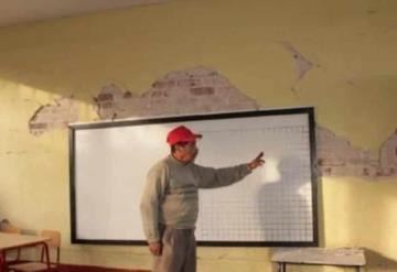 A dos años del sismo en Juchitán, 230 escuelas continúan inconclusas