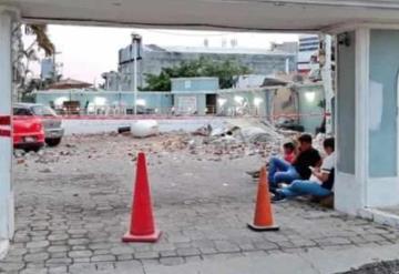 Fuga de gas causa explosión en restaurante de Boca del Río; se reportan lesionados