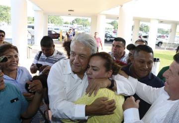 Se relajará AMLO dos días en Palenque antes de su Primer Grito en Palacio Nacional