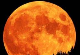La Luna de Cosecha que se verá esta noche no se repetirá en 30 años
