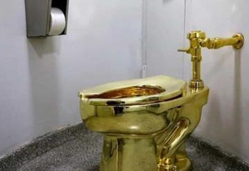 Viral: Roban inodoro de oro de palacio británico