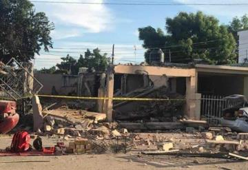 Demolerán 2 casas vecinas a vivienda donde fue explosión; heridos continúan en el hospital