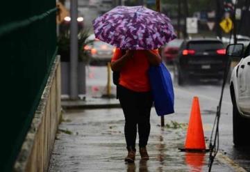 Continuarán lluvias fuertes en la entidad