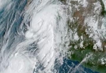 Emiten Alerta Azul, Verde y Amarilla en Sonora por huracán Lorena