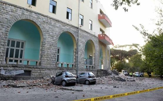 Dos sismos azotan Albania; hay heridos y daños