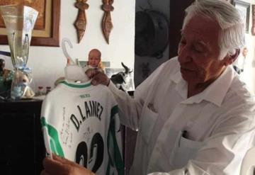 Premiarán a Jorge Lainez, abuelo de Diego y Mauro