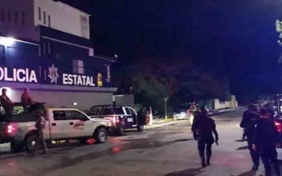 Atacan a balazos sede de la policía estatal en Playa del Carmen