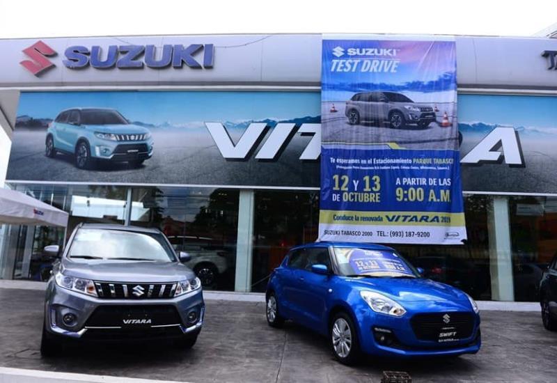 Todo listo para el Test Drive Suzuki 2019, aquí todo lo que tienes que saber