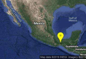 Sismo despierta a habitantes de Chiapas y Oaxaca