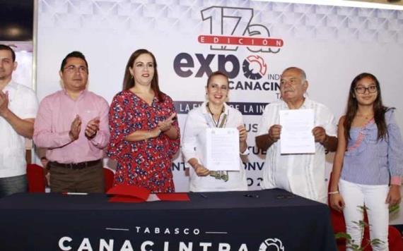 Así se vivió el segundo día de la Expo Canacintra 2019 en Villahermosa