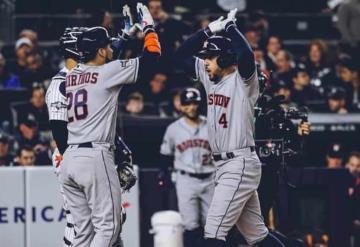 Los Astros ponen en la lona a los Yankees