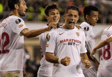 ¡Gana Sevilla con Chicharito de titular!