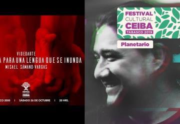 Misael Sámano Vargas presenta video arte en el Festival Ceiba