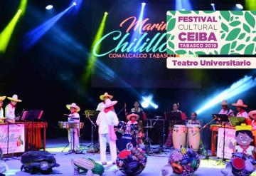 Ceiba al ritmo de la marimba