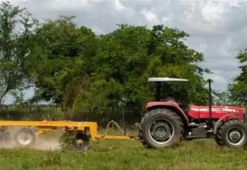 Tractores nuevos arrancaron  Sembrando Vida en Tabasco