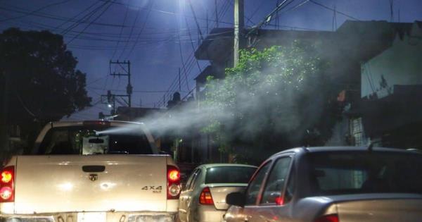 Intensifican fumigación y nebulización terrestre en la ciudad de Villahermosa - Diario Presente
