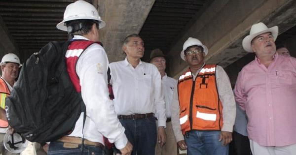 Adán Augusto da inicio a gira de supervisión de puentes en Villahermosa - Diario Presente