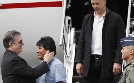 VÍDEO: Me salvaron la vida: Evo Morales aterriza en México como asilado político