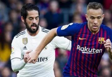 Confirman fecha y horario para el Clásico Español, Barcelona vs Real Madrid