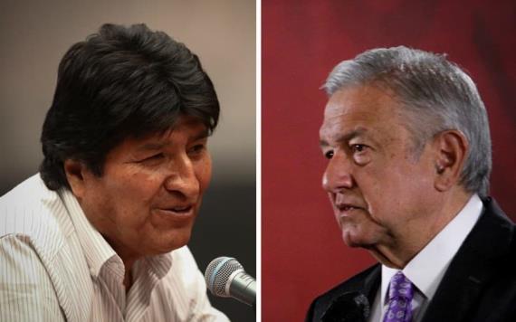 Elementos que estaban en Estado Mayor Presidencial cuidan a Evo: López Obrador