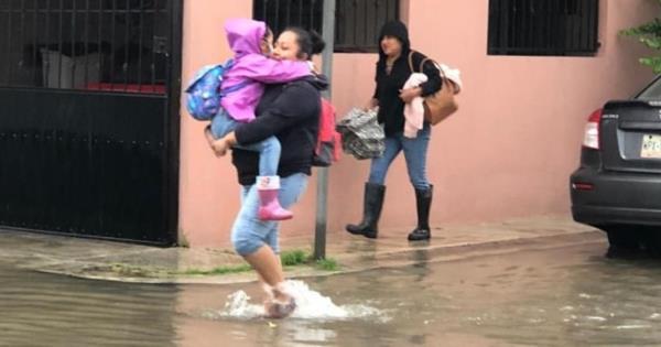 Así amanecieron algunas calles de Villahermosa - Diario Presente